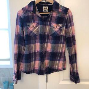 🛍TNA Savannah Flannel Shirt Size M